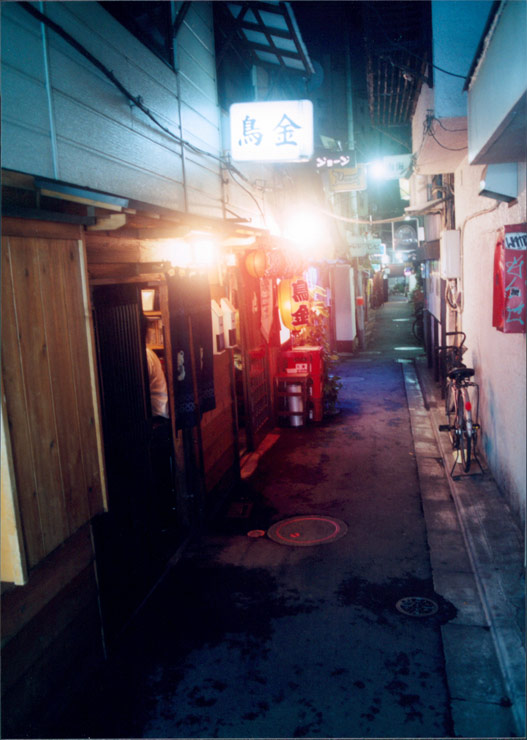 Golden Kai Alley